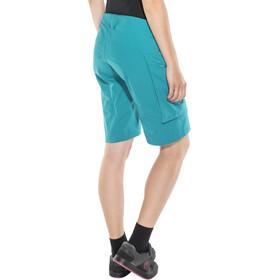 Odlo Morzine Cycling Shorts Women turquoise
